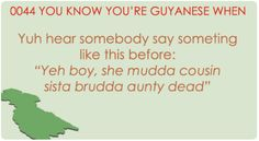 funny guyanese - Google Search Funny Jokes, Hilarious, Indian Jokes, West Indian, Smiles And Laughs, South America, I Laughed, Caribbean, Roots