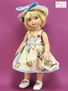 Watering can pinafore