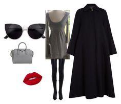 """Diane von Furstenberg dress"" by joanna-brzegowy on Polyvore featuring moda, Joseph, Givenchy, Zimmermann i Lime Crime"