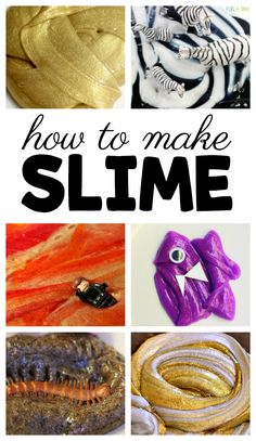 Wondering how to make slime with kids? Come learn how to make easy gold slime, epic molten lava slime, and even more slime recipes for kids. Early Learning Activities, Creative Activities For Kids, Easy Crafts For Kids, Sensory Activities, Sensory Play, Kids Learning, Creative Play, Indoor Activities, Preschool Lesson Plans