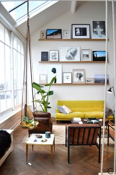 The Loft Amsterdam | The playing Circle | interior design inspiration | Vintage