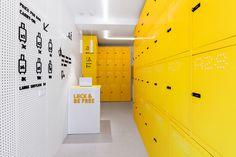 LOCK & BE FREE. Project 360º. Lockers on Behance