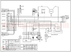 wiring diagram for chinese 110 atv  u2013 the wiring diagram 110cc four wheeler