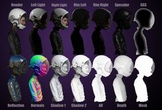 Space Cadet - Render Passes - Space Cadet - CG Gallery - Computer Graphics Forum