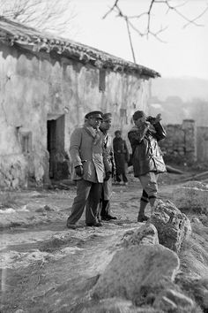 Spain - 1938. - GC - At Estado Mayor [Headquarters] at Teruel Front