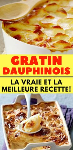 Gratin Dauphinois : Facile, Facile et très Facile !!! gratin dauphinois | gratin dauphinois recette | gratin dauphinois recette facile | gratin dauphinois recette individuel | gratin dauphinois accompagnement | gratin dauphinois minceur | gratin dauphinois rapide | vrai gratin dauphinois | meilleur gratin dauphinois | gratin dauphinois pour 2 personnes | cuisson gratin dauphinois | petit gratin dauphinois | gratin dauphinois léger | gratin dauphinois vegetal | véritable gratin dauphinois | French Food, Dim Sum, Coco, Entrees, Casserole, French Toast, Recipies, Veggies, Cooking Recipes