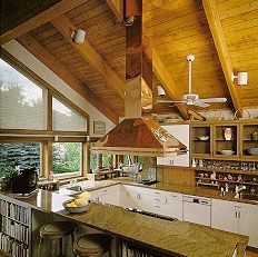 Make An Island Range Hood Vented Through Vaulted Ceiling Google Search Rangehoodsforvaultedce Island Cooktop Kitchen Island With Cooktop Kitchen Island Trim