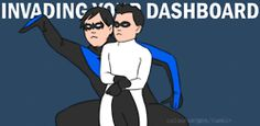 my gif dick grayson Damian Wayne art of the Abby gangnam style