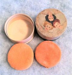 Your place to buy and sell all things handmade Make Up Cake, Powder Puff, Vintage Vanity, Soap Making, Making Ideas, Wwii, 1940s, Boxes, Handmade