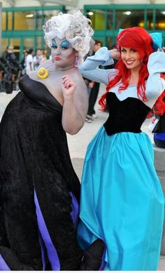 Ariel  Ursula Cosplay