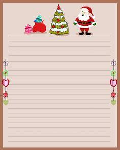 Golden Christmas Gift Box Stationery Letter Paper Personalized ...