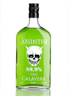 Absinthe Calavera Vert for all our #absinthe loving #packaging peeps PD