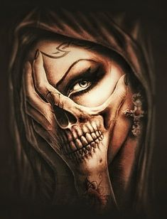 Discover recipes, home ideas, style inspiration and other ideas to try. Hand Tattoos, Sugar Skull Tattoos, Body Art Tattoos, Girl Tattoos, Sleeve Tattoos, Skull Girl Tattoo, Skull Tattoo Design, Tattoo Designs, La Muerte Tattoo