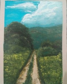 Country Roads, Artist, Painting, Artists, Painting Art, Paintings, Painted Canvas, Drawings