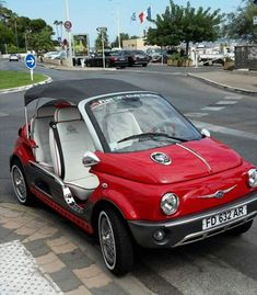 Fiat 500 Cabrio, Non Solo, Beach Cars, Fiat Cars, Fiat Abarth, Combustion Engine, Atvs, Small Cars, Electric Cars