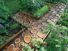111 Gartenwege Gestalten Beispiele - 7 Tolle Materialien Für Den ... Ideen Fur Den Bodenbelag Im Garten