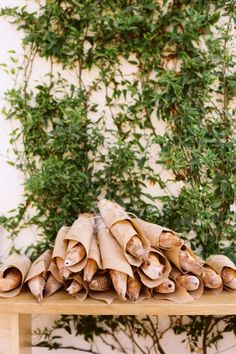 baguette party favors, doing this! Food Photography Styling, Food Styling, Croissants, Brunch Party Decorations, Wedding Decorations, Party Food Buffet, Kinfolk Magazine, Butcher Paper, Party Time