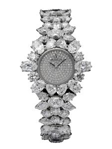 Montre Montega - Elie Chatila, platine, diamants, EC 09.287