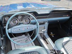 1968 ford mustang interior