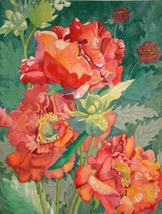 Geum by Cheryl Gaskell Jenkins