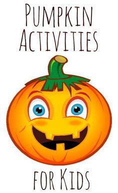 Fall pumpkin activities for kids