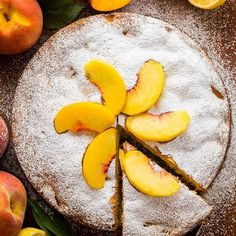 Thinking about this peach cake and all of our sweet readers and friends in Florida. Praying for God's protection over you and your families!