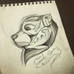 BEAR by CRIKER / diseño libre tatuaje disponible. #inked #crikertattoo #bear #tattoo #lifeart #dibujando #lines #details #illustration #designface #portrait #CRIKER www.facebook.com/crikerink Whatsapp: (+57) 316-655-7642