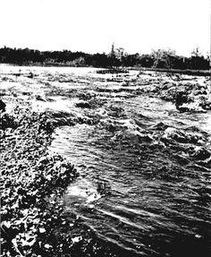 Rapids on the Miami River (Photonegative- 1896)