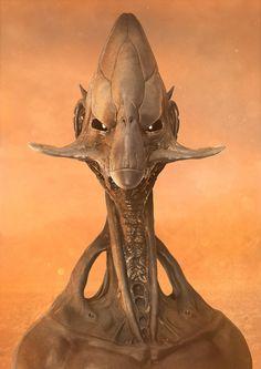 ArtStation - Alien Head, Hélio Neto