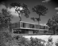 Leavengood House | Architects: Paul Rudolph & Ralph Twitchell | St. Petersburg, FL | Photos: Ezra Stoller