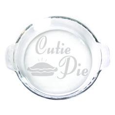 Pie Plate - 9 in. w/handles  - Cutie Pie