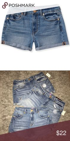 3 Pair High Waisted Shorts. Two nwt and one pair worn once. Tokyo Darling Shorts Jean Shorts