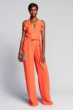Citation for contemporary evening jumpsuit. Banana Republic Spring 2017 Ready-to-Wear collection.