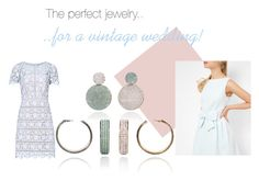 """The perfect jewelry for a vintage wedding"" by blingsense ❤ liked on Polyvore featuring Ted Baker, Reiss and vintage"