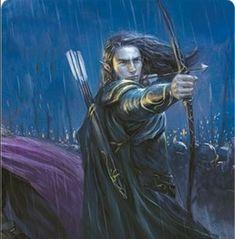 Legolas--dark-haired and left-handed. Character Sketches, Character Art, Male Elf, Lotr Elves, Legolas And Thranduil, Elf Art, Forest Elf, O Hobbit, High Elf