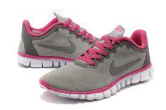 new concept 3b5a4 becf8 comprar barato Mujer Free 3.0 V2 Contra Piel Zapatos Gris Rosa en la tienda  online.