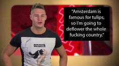 19 Times Scotty T Made Everybody Laugh Scotty T Geordie Shore, Geordie Shore Quotes, Real Life, Cards Against Humanity, Sayings, Germany, Unicorns, 4x4, Amsterdam