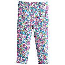 Buy Baby Joule Dee Dee Flower Leggings, Purple Online at johnlewis.com