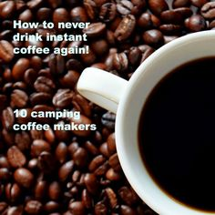 10 clever camping coffee makers!