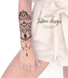 Moon Tattoo Designs, Unique Tattoo Designs, Floral Tattoo Design, Design Floral, Forarm Tattoos, Sleeve Tattoos, Cool Tattoos, Unique Tattoos For Women, Leg Tattoos Women
