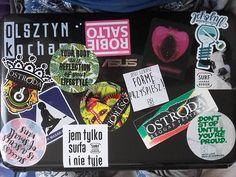 Powoli brakuje miejsca na #wlepy ...   #naklejki #stick #sticker #colors #laptop #good #mylaptop #vlepki