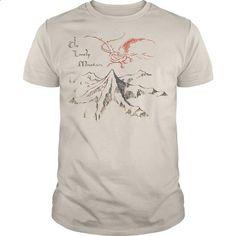 The Hobbit Lonely Mountain - design your own shirt #mom shirt #sweatshirt…