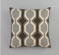 Two 20 x 20 Designer Decorative Pillow Covers  in by onlylinens, $53.00