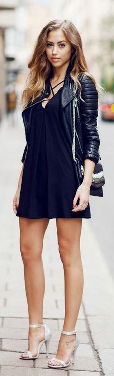 Fashionista: Beauty Insurance in Black
