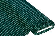Jacquard-Jersey Streifen, grün/blau € 6,99 buttinette 250 g