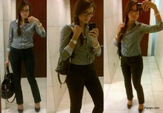 satin shirts for women | Office Space: Classic Everyday Work Outfit ...