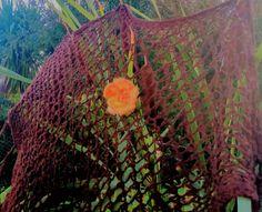 Autumn flower pin Fall Flowers, Flower Brooch, Hair Pins, Beautiful Flowers, Retro, Orange, Plants, Handmade, Autumn