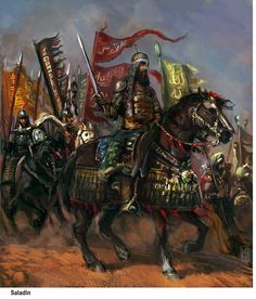 An-Nasir Salah ad-Din Yusuf ibn Ayyub, known as Saladin (1137 – March 1193), was the first sultan of Egypt and Syria and the founder of the Ayyubid dynasty. A Sunni Muslim of Kurdish origin.
