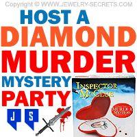 ►► HOST A DIAMOND MURDER MYSTERY PARTY ►► Jewelry Secrets