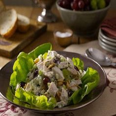 Turkey Salad with Grapes and Walnuts | MyRecipes.com This is ...